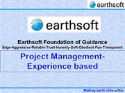 10-B-Earthsoft-Project Management-Experience based