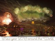 New Year 2013 celebrations Around The World