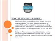 What is fatcow review