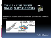 PHYLUM PLATYHELMINTHES AND NEMATODES