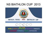 NATION STATES BIATHLON WORLD CUP  2013