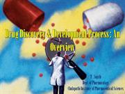 Drug Discovery An Overview ppt