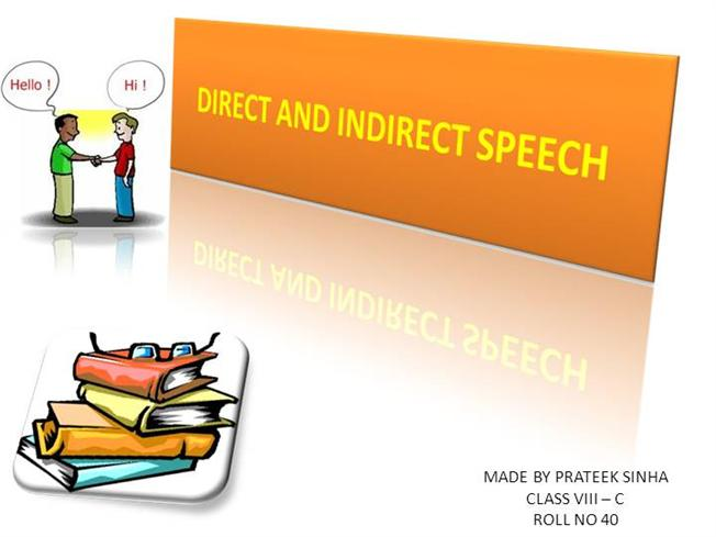 Direct and indirect speech authorstream m4hsunfo