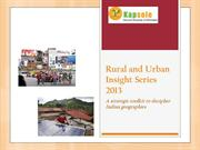 Rural & Urban Insight Series 2013