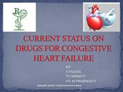 CURRENT  STATUS OF CONGESTIVE HEART FAILURE
