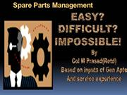 Spare Part Management