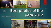 Best photos of the year 2012