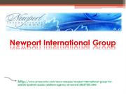 Newport International Group, Inc. Selects Quatrain Public Relations Ag