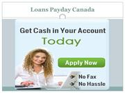 Loans Payday Canada