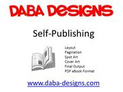 Daba Designs Self-Publishing Services