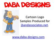 Daba Designs Cartoon Logo Sample
