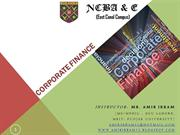 Corporate Finance; Introduction (1)