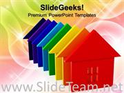 ENERGY RATING HOUSES REAL ESTATE POWERPOINT THEME