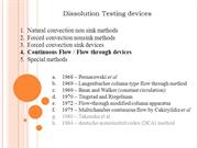 dissolution testing devices