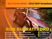 2013 Ford SUVs in Sacramento  The Latest Collection!
