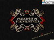 PRINCIPLES OF BUSINESS ETHICS-DINESH