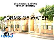 1.Forms of water