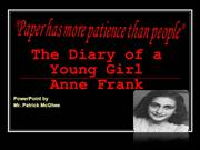 Anne Frank intro
