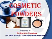 UNANI COSMETIC POWDERS ppt