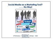 Using Social Media as a Marketing Tool