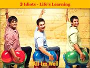 3idiots-lessons to learn