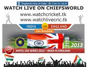 INDIA VS ENGLAND ODI SERIES 2013 FIXTURES and SCHEDULE