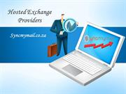 Hosted Exchange Providing Company