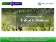 Irrigation Systems Toronto