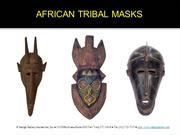 African Masks Collection at Sadigh Gallery