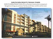 DHRUTHI PROPERTIES BANGALORE- TRANQUIL TOWERS