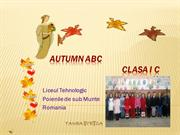 AUTUMN ABC