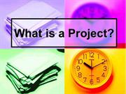 What is a Project