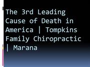 The 3rd Leading Cause of Death in America  Tompkins Family Chiropracti