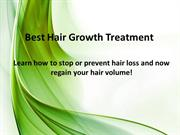 Learn How to Stop or Prevent Hair Loss and Best Hair Growth Treatment