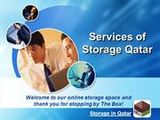 Storage and Moving Services in Qatar