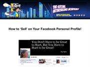How to Sell on Your Facebook Personal Profile