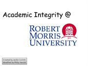 Academic Integrity Presentation