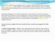 Cleaning Services Toronto Regarding Cleaning Your Refrigerator