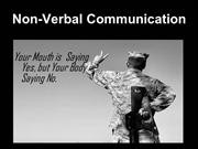 non-verbalcommunication