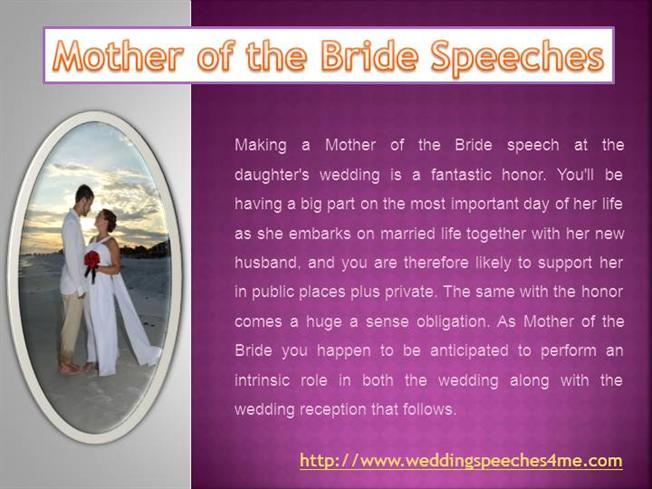 Father Of The Bride Speeches - Wedding Speeches |Authorstream