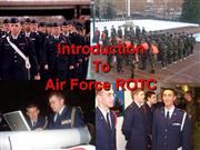 AFROTC  AS100s:02 Intro Into Air Force