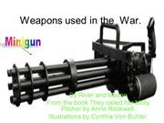 Weapons Used in War