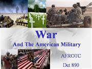 AFROTC  AS100s:07 War & American Militar