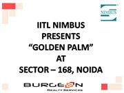 Nimbus Golden Palms Resale @ 9312276061 ,9953518822 Nimbus Golden Palm