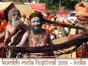 Maha Kumbh Mela Festival 2013 (part 1)