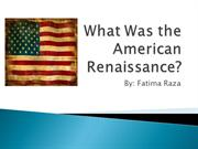 What Was the American Renaissance