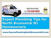 Plumbing Tips from an Expert Plumber North Brunswick NJ