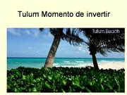 Tulum l8 oportunidad