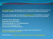 In Home Care Management Services from Cerna Home Care