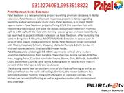 Patel Neotown Noida Extension @ CALL 9953518822,9718337727 Patel Ne
